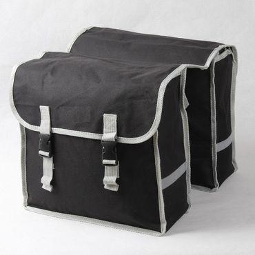 Doppel Gepäckträger Fahrrad Tasche Fahrradtasche Gepäcktasche – Bild 4