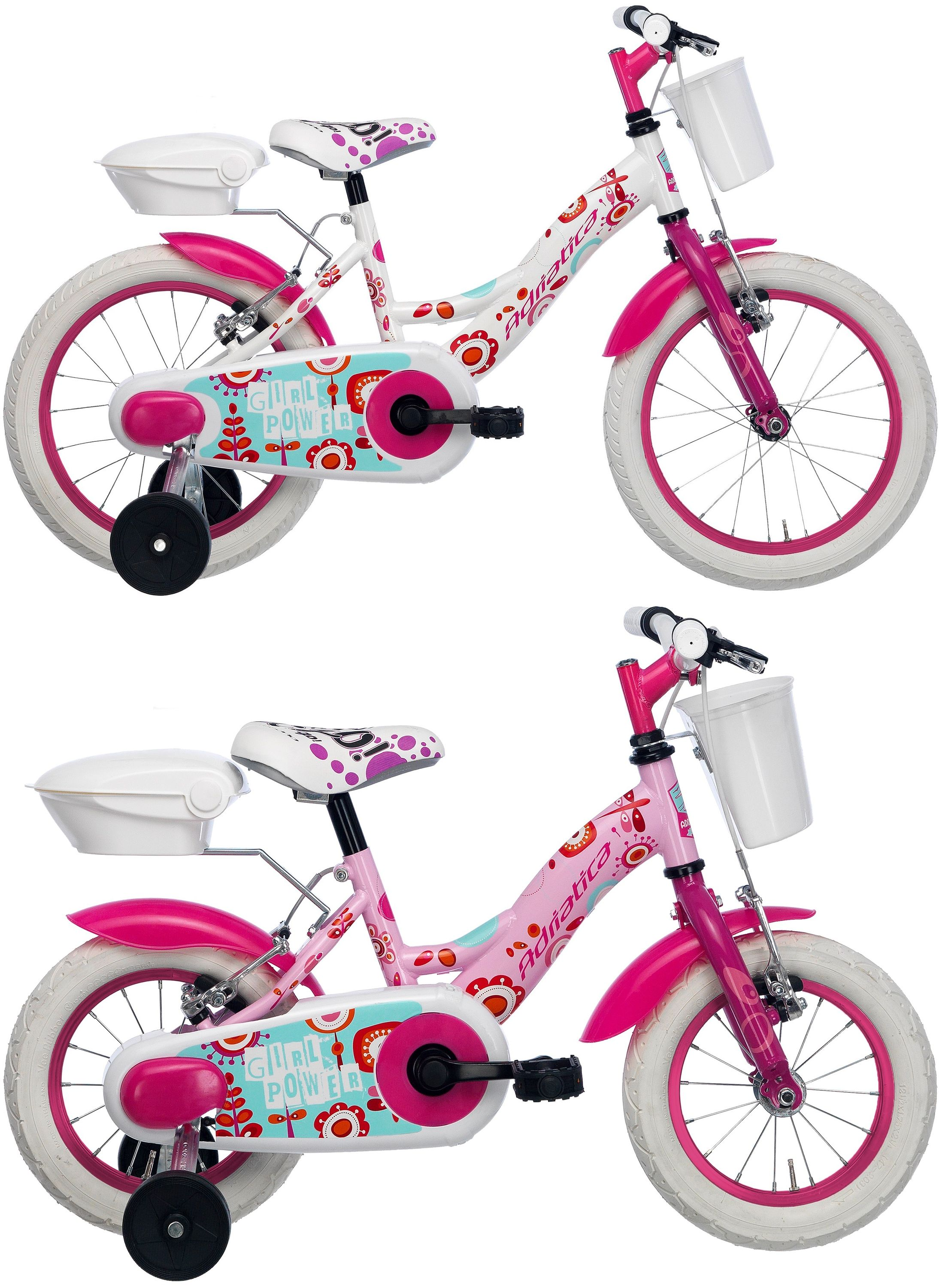 16 zoll m dchen fahrrad adriatica girl fahrr der. Black Bedroom Furniture Sets. Home Design Ideas