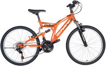 26 Zoll Fully Mountainbike 18 Gang Schiano Rider – Bild 2