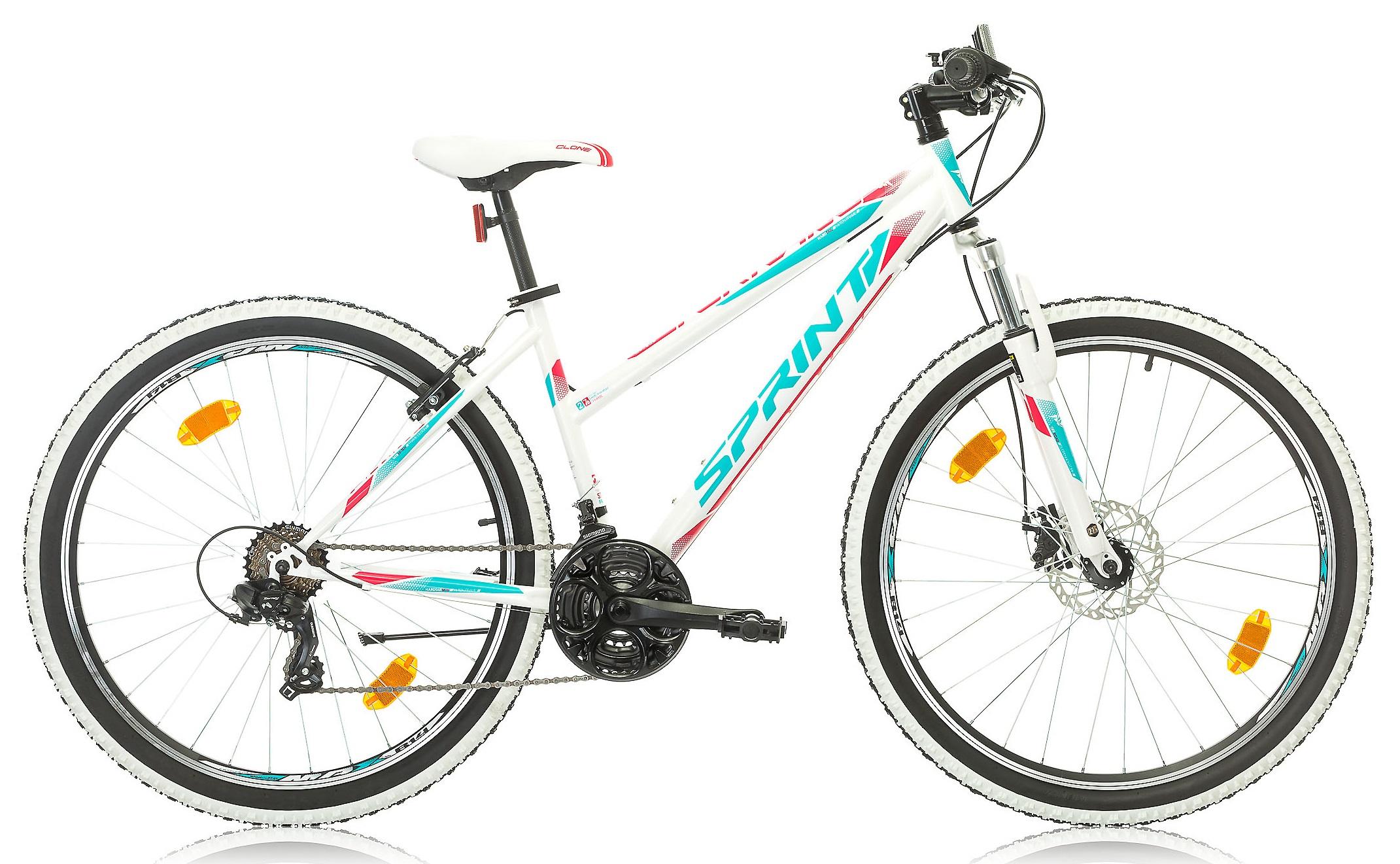 27,5 Zoll Mountainbike Sprint Tornado Lady 21 Gang Fahrräder ...
