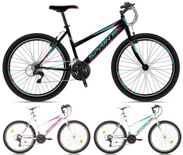 26 Zoll Mountainbike Sprint Active Lady 18 Gang – Bild 1