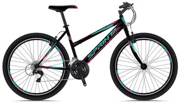 26 Zoll Mountainbike Sprint Active Lady 18 Gang – Bild 3