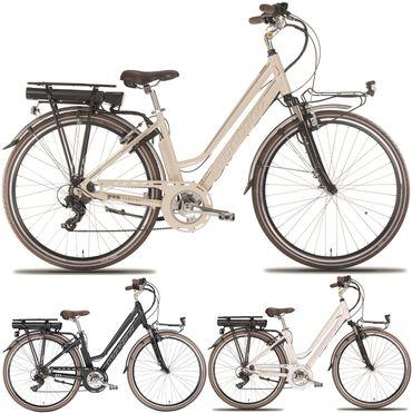28 Zoll Elektro Damen Fahrrad Montana E-Bluecity Deluxe – Bild 1
