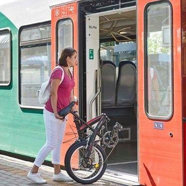 24 Zoll Klappfahrrad Cinzia Trolley 6 Gang Magnetverschluss – Bild 6