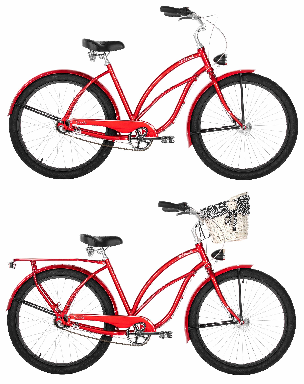 26 zoll damen beach cruiser fahrrad embassy roter. Black Bedroom Furniture Sets. Home Design Ideas