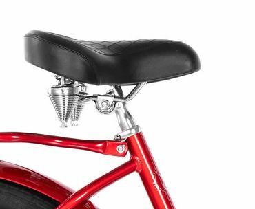 26 Zoll Damen Beach Cruiser Fahrrad Embassy ROTER LIPPENSTIFT  – Bild 5
