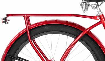 26 Zoll Damen Beach Cruiser Fahrrad Embassy ROTER LIPPENSTIFT  – Bild 7