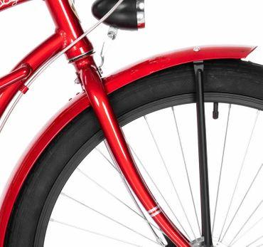 26 Zoll Damen Beach Cruiser Fahrrad Embassy ROTER LIPPENSTIFT  – Bild 12