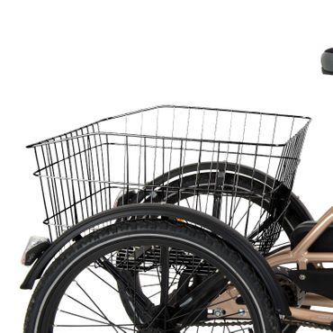 24 Zoll Elektro Dreirad Cyclo2 Comfort24 3-Gang  bronzefarben – Bild 8