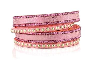Lizas Armband, rosa