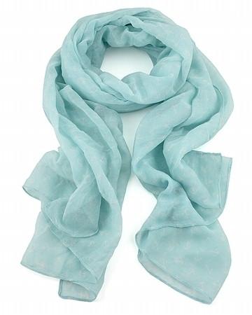 Lizas Tuch/Schal, blau