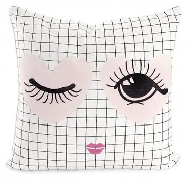 Miss Etoile Kissen  heart and eye  50 x 50 cm