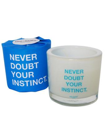 Me&Mats Duftkerze, 'Never doubt your instinct', 190 ml (Wachs)
