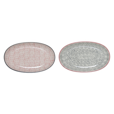 Bloomingville Cecile Oval Plates, Set