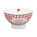 "Krasilnikoff Happy Bowl ""Home Sweet Home"""