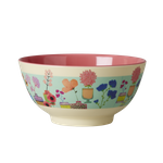 Rice Melamin Schale mit Flower Display Print