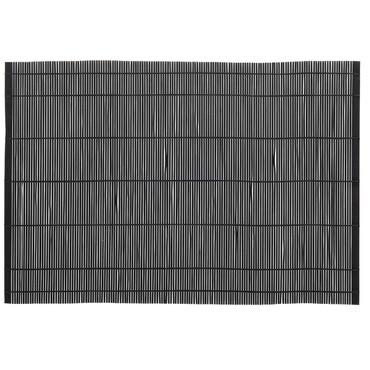 IB Laursen Setzgedeck Bambus, schwarz