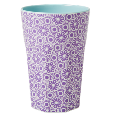 Rice Melamin Becher Two Tone Tall Cup, lila