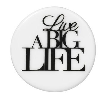 Räder Magnet rund  Live a big life
