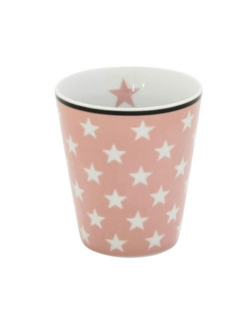 Krasilnikoff Happy Mug Star pink