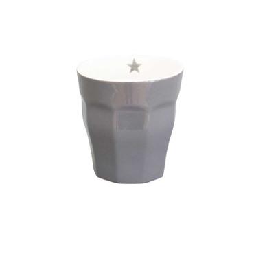 Krasilnikoff Latte Becher dunkelgrau