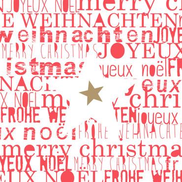 Räder Winterzeit Servietten  Weihnachten