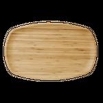 Rice rechteckige Bambus-Platte