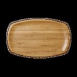 Rice rechteckige Bambus Platte, small