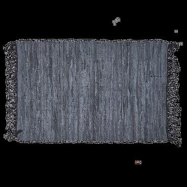 Bahne & Co. Teppich, Leder, grau