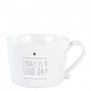 Bastion Collections Tasse Becher  Today is a good day