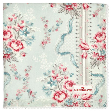 GreenGate Stoffserviette Betty, mint