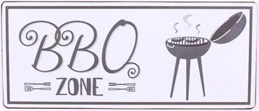 La Finesse Schild  BBQ Zone
