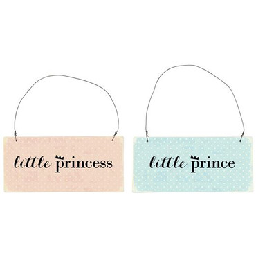 IB Laursen Metallschild  little princess