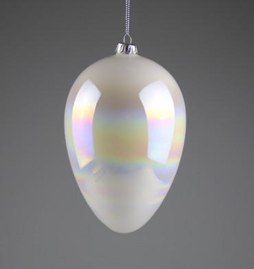 AM Design Ei, Glas, weiß Iris