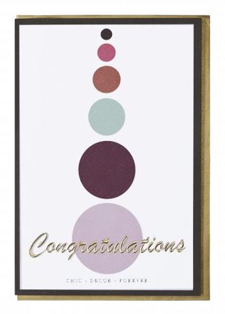 Miss Etoile Karte  Congratulations