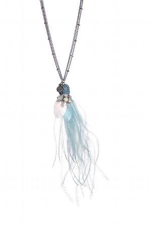 Lizas Halskette blau