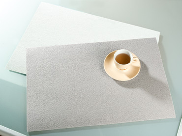 Gilde Platzset, Filz, weiß (Foto oben)