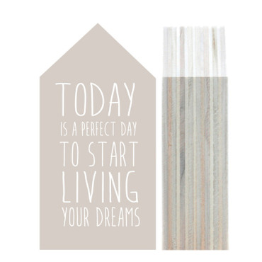 Dots Lifestyle Holzhaus ToDay is a perfect Day...