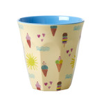 Rice Melamin Becher, Summer Print