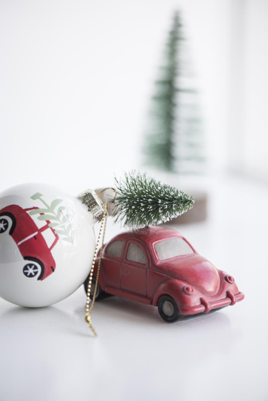 Auto Weihnachtsbaum.Ib Laursen Auto Mit Weihnachtsbaum Stehend 2er Set Xmas