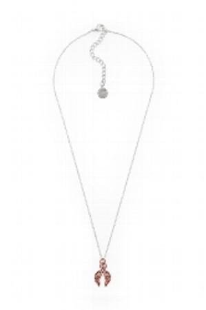 Lizas Halskette mit Anhänger Engelflügel, rosé gold