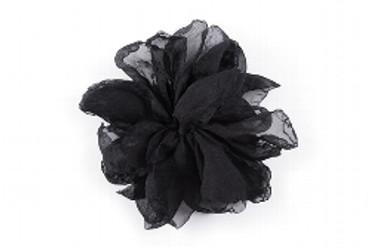 Lizas Brosche, schwarz