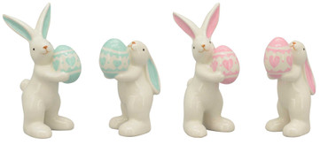 Exner Hase Pearl, Schlappohren, rosa (Foto rechts)