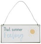 IB Laursen Metallschild  That summer feeling