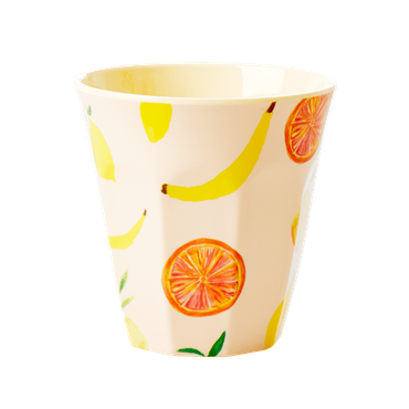 Rice Melamin Becher  Happy Fruits , medium