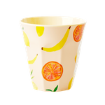 "Rice Melamin Becher ""Happy Fruits"", medium"