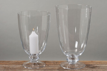 Windlicht klares Glas