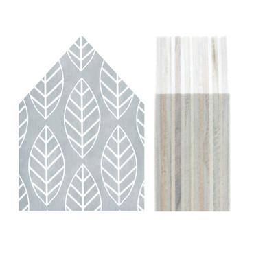 Dots Lifestyle Holzhaus Blätter