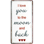 IB Laursen Magnet I love you to the moon