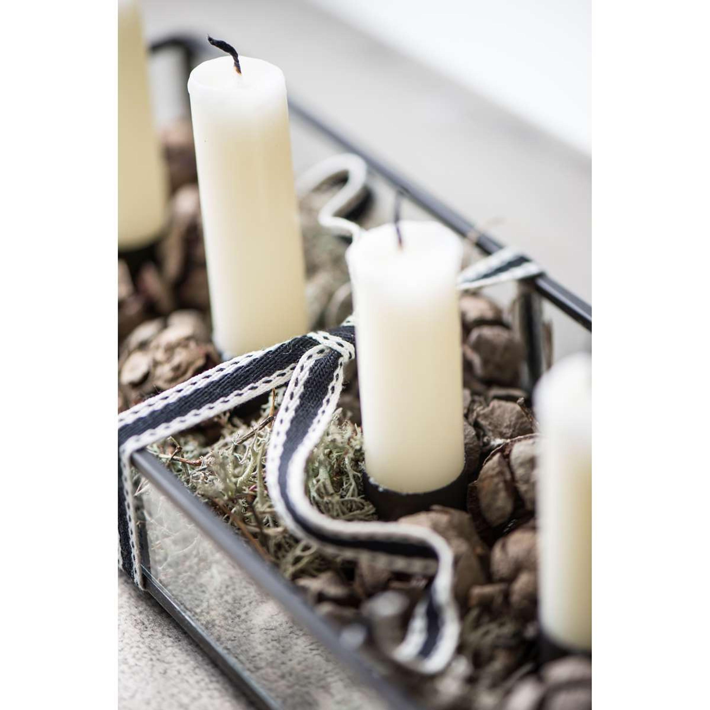 ib laursen kerzenhalter l ngliche f r 4 kerzen wohnen. Black Bedroom Furniture Sets. Home Design Ideas